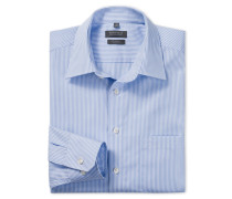 gestreiftes Oberhemd in Regular-Fit-Schnittform