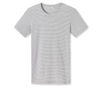 Shirt kurzarm silbergrau meliert - Revival Josef