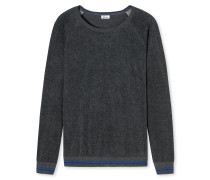 Sweater dunkelgrau meliert - Revival Hartmut
