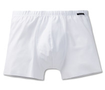 Shorts Interlock seamless weiß - Laser Cut