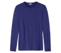Shirt langarm indigo - Revival Johann