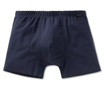 Shorts Interlock seamless blau - Laser Cut