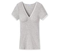 Shirt kurzarm grau meliert - Revival Maike