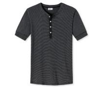 Shirt kurzarm anthrazit meliert - Revival Karl-Heinz