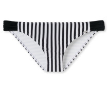 Bikini Minislip Streifen schwarz-weiß - Mix & Match Nautical