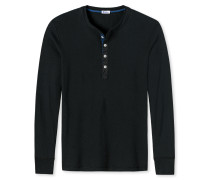 Shirt langarm schwarz - Revival Karl-Heinz