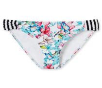 Bikini Minislip Blumenprint mehrfarbig - Mix & Match Nautical