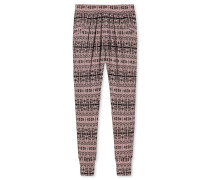 Jerseyhose lang Modal Bambus Ethno-Muster mehrfarbig - Mix & Relax Lounge