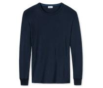 Shirt langarm dunkelblau - Revival Karl-Heinz