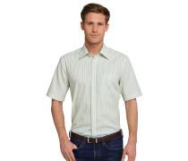 Hemd kurzarm bügelfrei Kentkragen mehrfarbig gestreift - REGULAR FIT
