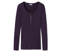 Shirt langarm pflaume - Revival Emma