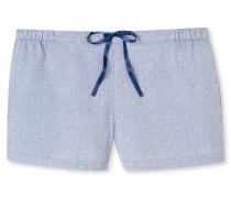 Shorts Webware dunkelblau bedruckt - Mix & Relax