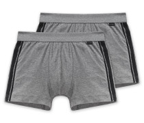 Shorts 2er-Pack anthrazit - Cotton Essentials