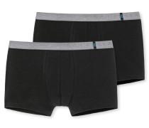 Shorts 2er-Pack schwarz - 95/5