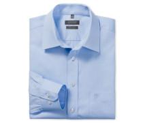 hellblaues Oberhemd in Comfort-Fit-Schnittform