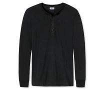 Shirt langarm schwarz - Revival Hanno