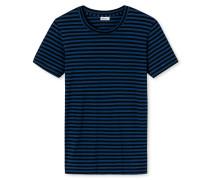 Shirt kurzarm indigo-schwarz - Revival Josef
