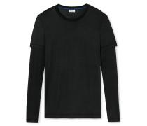 Shirt langarm schwarz - Revival Theodor