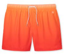 Swimshorts Webware orange mit Farbverlauf - Aqua Miami