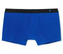 Hip Shorts gemustert royalblau - 95/5