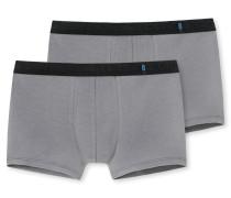 Shorts 2er-Pack grau - 95/5