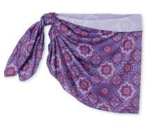 Pareo Fliesen-Mosaik-Muster mehrfarbig - Aqua