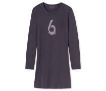 Sleepshirt langarm graphit -Attitude