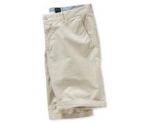 Chino Bermudashorts Webware beige - Selected! Premium