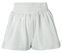 Shorts mit elastischem Saum
