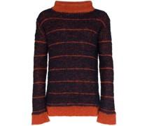 Pullover mit weitem Kragen