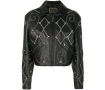 gemstone biker jacket