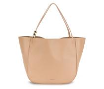Oversized-Handtasche mit Henkel