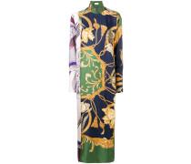 printed loose long dress