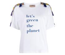 x Stella Jean T-Shirt mit Print