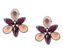 Bellini Scarlet Orchid stud earrings
