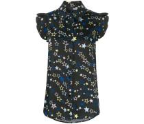 Bluse mit Sterne-Print