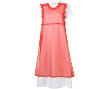 T-Shirt-Kleid im Layering-Look