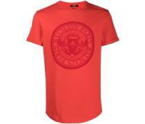 T-Shirt mit Logo-Wappen