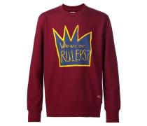 Sweatshirt mit Kronen-Print