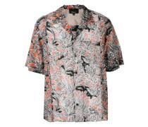 Kurzärmeliges 'Souvenir' Hemd