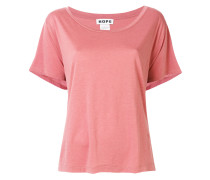 loose fit wide neck T-shirt