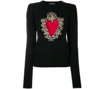Pullover mit Herzmotiv