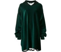 loose long-sleeved hoodie