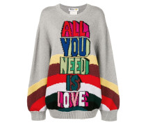 'All You Need Is Love' Pullover