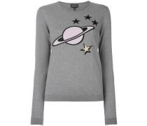 Pullover mit Planeten-Motiv