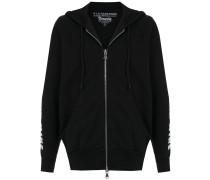 hooded Drácula sweatshirt