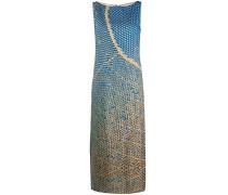 Ärmelloses Kleid mit Print