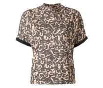 T-Shirt mit Ozelotenmuster