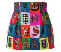 Mini-Shorts mit Print