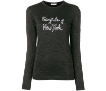 Fairytale Of New York glittered sweater